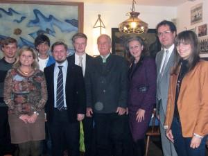 Der neugewählte Vorstand der Volkspartei St. Nikolaus